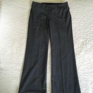 ANN TAYLOR LOFT Gray Marisa Trouser Pants Womens 6